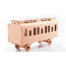 ♡Leolandia Kartonnen trein wagon bouwpakket♡  Kartonnen trein wagon bouwpakket, geschikt voor kinderen vanaf 5 jaar. Leuk in combinatie met de trein! ~Leolandia~