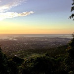 The spectacular view from Mt Keira. #welovethegong
