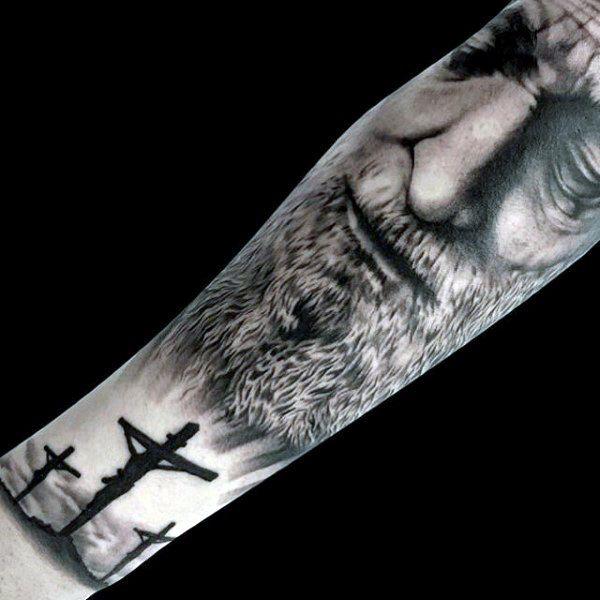 #jesus #tattoo #tattoos #ideas #designs #men #formen #menstattooideas