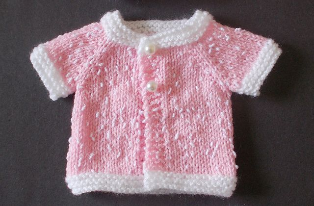 Knitting Pattern Baby Cardigan 4 Ply Free : Baby Cardigan Sweater Knitting Patterns Baby cardigan, Ravelry and Knitting...
