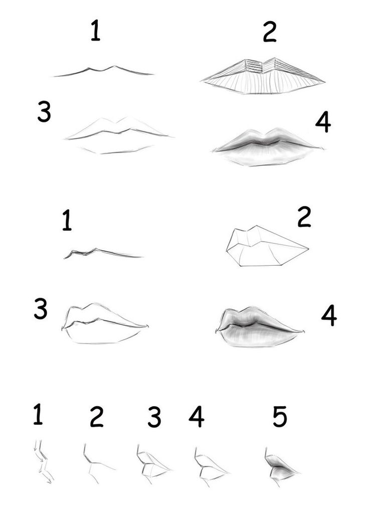 Lips Tutorial by ~MasterSS on deviantART