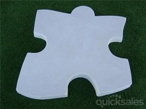 Jigsaw Puzzle Stepping Stone Mould/Mold Garden Paver Concrete NEW Style 2