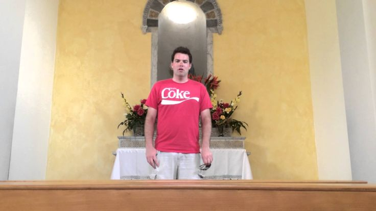 Man Sings the Original 'Halo' Video Game Theme Song in an Empty Chapel in Switzerland