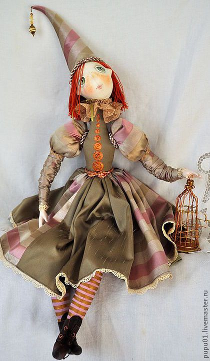 Collectible dolls handmade.  Fair Masters - handmade Fly ....  Handmade.