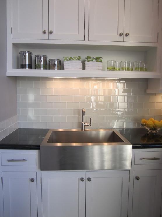 Kitchen Backsplash Grey
