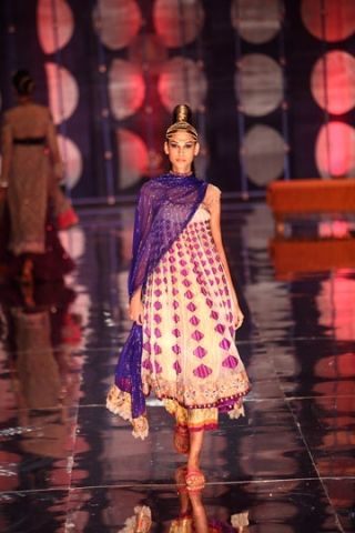 Rina Dhaka. IBFW 13'. Indian Couture.
