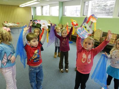Chinese New Year: Sing, Dance, Create at PreK+K Sharing