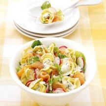 Weight Watchers - Tortellinisalade met zalm - 11pt