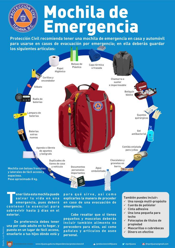 La importancia de tener una mochila de emergencia o de las 72 horas y su contenido...