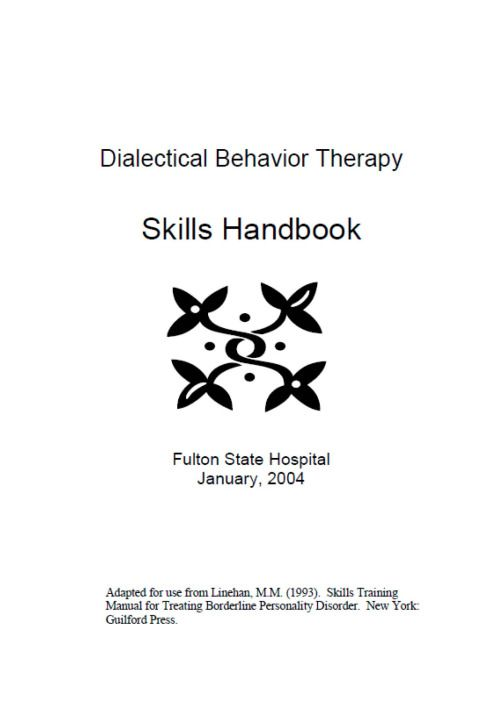 dbt adolescents handbook 28 images dbt diary card for – Dbt Therapy Worksheets