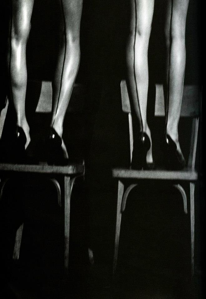 Peter Lindbergh - Hommage a Pina Bausch (enlarged detail). Paris, France 1997. S)