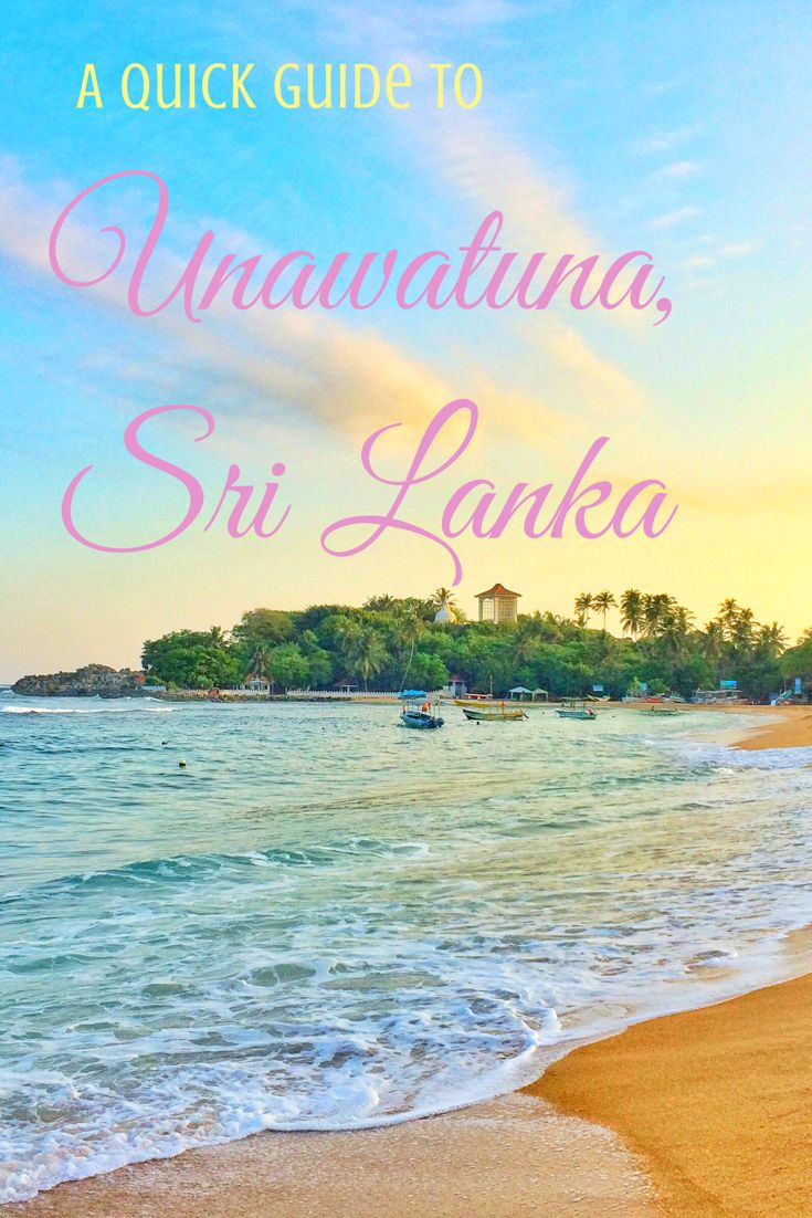 Everything you need to know before visiting the beautiful beaches of Unawatuna, Sri Lanka!