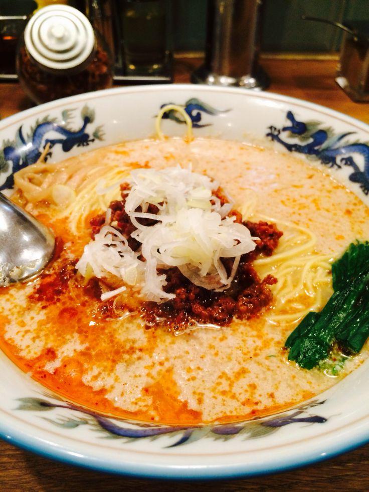 Spicy Sesami Soup Noodle 坦々麺
