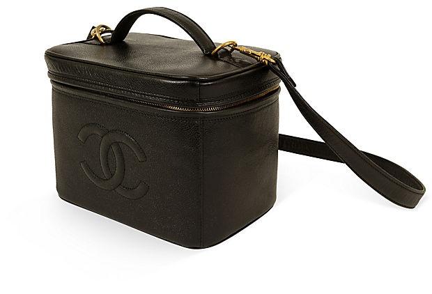 Chanel Black Caviar Travel Case on OneKingsLane.com