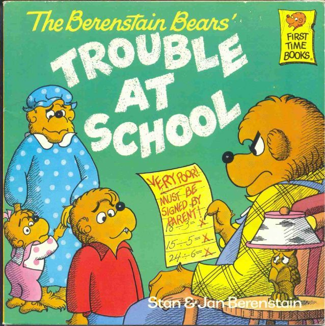 The Bearstein BearsTrouble, 90S Kids, Brother Bears, Comics Book, Bears Returns, Stan Berenstain, Bears Schools, Berenstain Bears, Children Book
