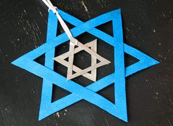 25 Hanukkah Crafts and DIY Menorahs