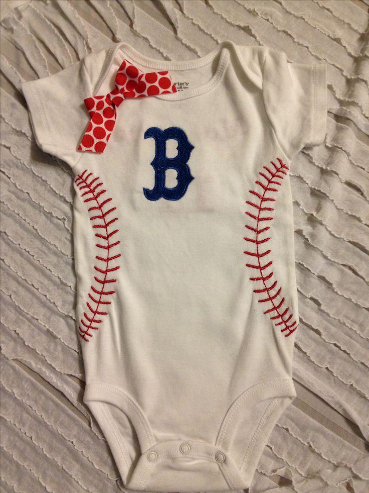 Baseball onesie super cute baby shower gift for boy or girl. Facebook.com/3littleangels