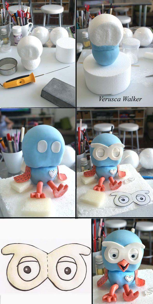 Hoot Figurine by ~Verusca