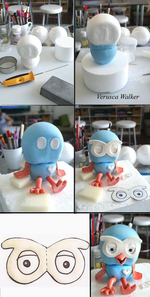 Hoot Figurine by ~Verusca