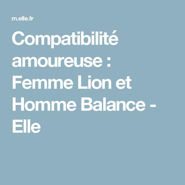 Compatibilité amoureuse : Femme Lion et Homme Balance - Elle