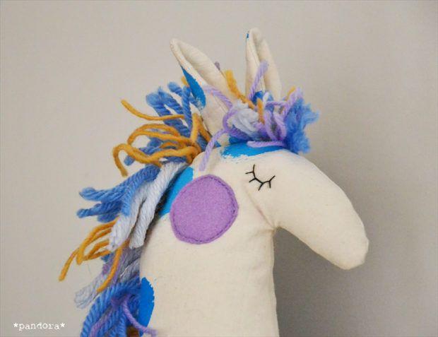 handmade stuffed horse * pandora creazioni | art & craft