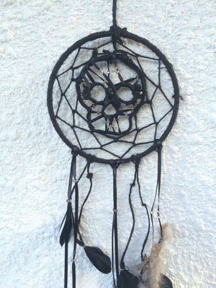 Dreamcatcher, skull