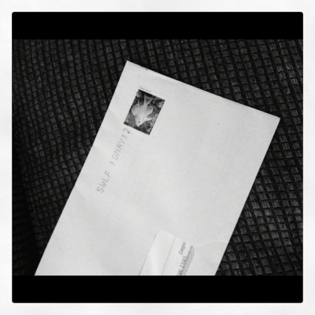 Day 11 - Letter. #photoadayjuly