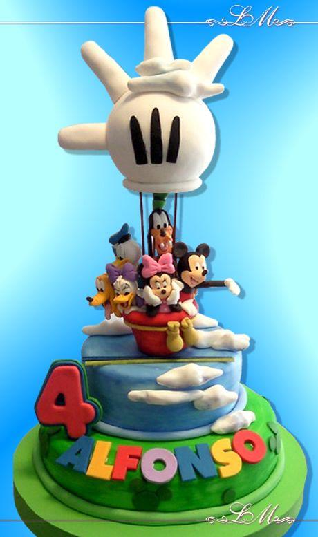 torta Mickey para nena o varon