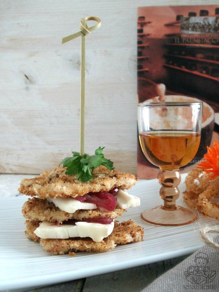 natosottoilcavolo: Millefoglie di pollo e cipolla di Tropea con Galav...