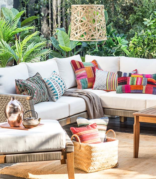 6 tendencias terrazas balcones para temporada cojines