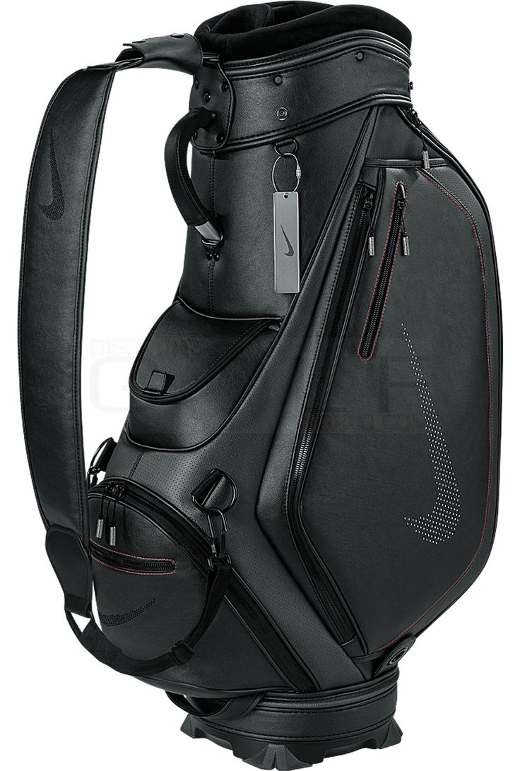 Nike Platinum Modern Cart Bag BG0394 Lightweight, 6-Way, Slip Resistant Strap Mens Golf Bags Bags & Carts