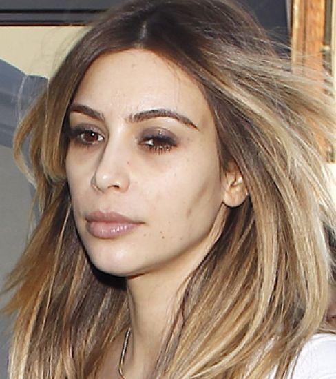 Kim Kardashian- No Makeup