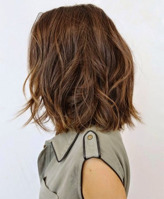 Top Shoulder Length Hairstyles 2015 – 2016 For Women