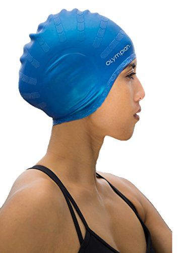 Swim Cap for Long Hair Adult Men / Women - Olympian Swim Cap Suited for Swimming and Water Aerobics - No Snag - Reduced Tension - Reduced Drag - Tear Resistant - Hypoallergenic - Unlimited Guarantee Olympian Athletics http://www.amazon.com/dp/B010E1FONW/ref=cm_sw_r_pi_dp_CzAEwb0TX3ZGX