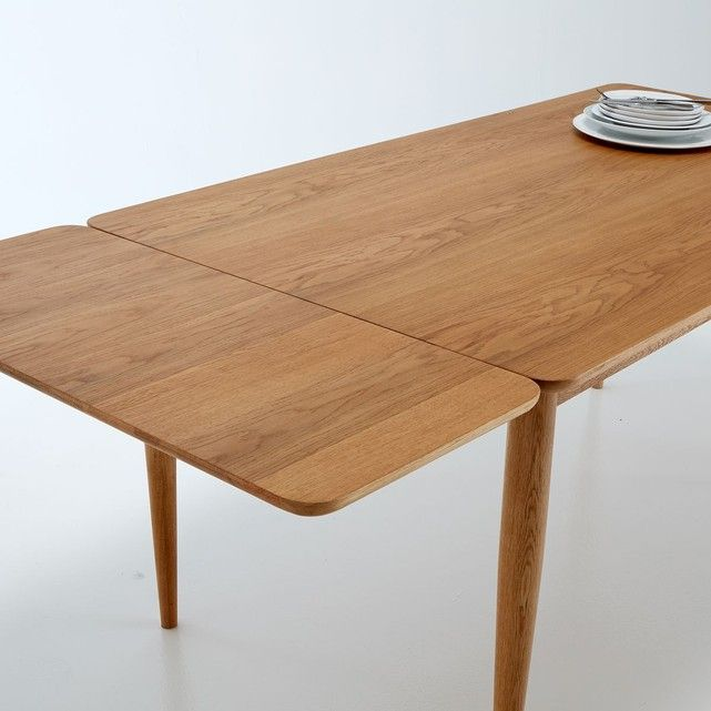Table A Manger A Allonges 6 8 Couverts Quilda Table A Manger Vintage Table A Manger Table Vintage