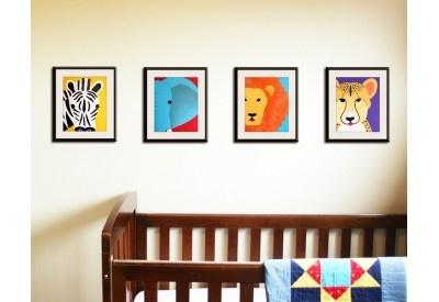 Safari wall art