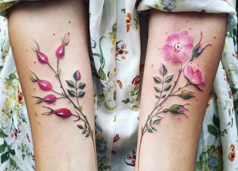 Tatuaggi Tattoo minimal geometrici botanici Pis Saro www.stylenotes.it