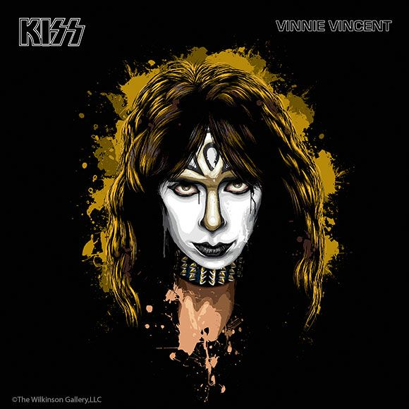 "Vinnie Vincent is a former guitarist for the band Kiss. He played on ""Creatures Of The Night"" 1982, and ""Lick It Up"" 1983. Real name: Vincent John Cusano. Born in Bridgeport, Connecticut August 6th, 1952"