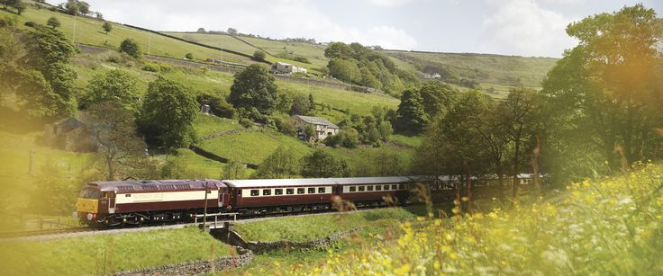 British Pullman and Northern Belle--book a luxury train journey in association with the Orient Express--I wish.