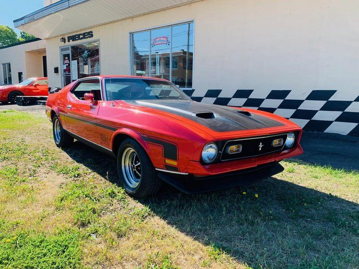 Classic 1971 Ford Mustang For Sale 2413421 29 950 St Jerome Quebec Canada 1971 Mustang Mach 1 Real Mach 1 Code 05 In 2020 1971 Ford Mustang Ford Mustang Mustang