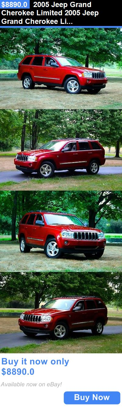 SUVs: 2005 Jeep Grand Cherokee Limited 2005 Jeep Grand Cherokee Limited 73,892 Miles Inferno Red Crystal Pearl Suv 8 Au BUY IT NOW ONLY: $8890.0
