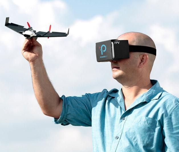 The PowerUp FPV promises to be a paper airplane drone equipped with a live-streaming camera that can be controlled by a virtual reality headset