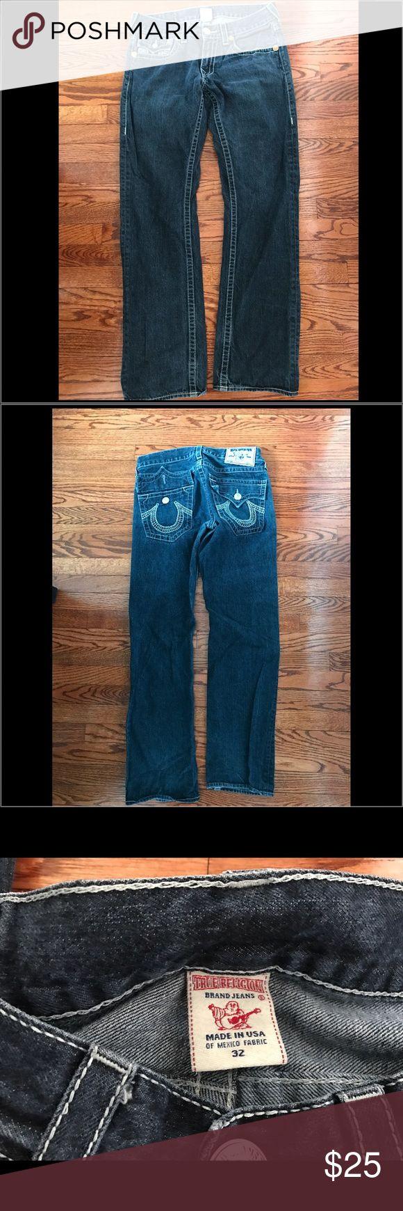 True Religion Men's Jeans Gently used men's True Religion Jeans. Size 32 True Religion Jeans Relaxed