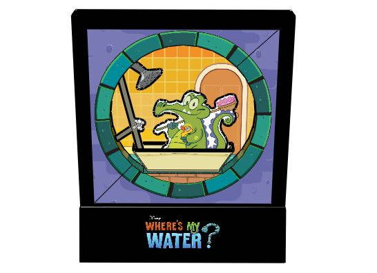 Disney - Where's My Water Free Papercraft Download - http://www.papercraftsquare.com/disney-wheres-my-water-free-papercraft-download.html#Disney, #WhereSMyWater
