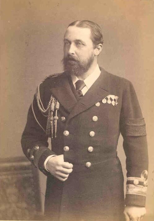 Alfred (Alfred Ernest Albert; 6 August 1844 – 30 July 1900) KG KT KP GCB GCSI GCMG GCIE GCVO PC, reigned as Duke of Saxe-Coburg and Gotha from 1893 to 1900. He was the second son and fourth child of Queen Victoria of the United Kingdom and Prince Albert of Saxe-Coburg and Gotha, and was known as Duke of Edinburgh from 1866 until he succeeded his paternal uncle Ernest II as the reigning Duke of Saxe-Coburg and Gotha in the German Empire.