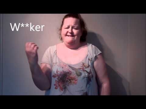 How to Swear in British Sign Language (BSL) - Part One
