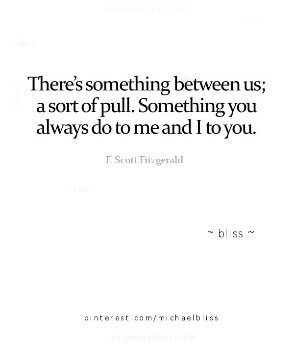The Pull | F. Scott Fitzgerald
