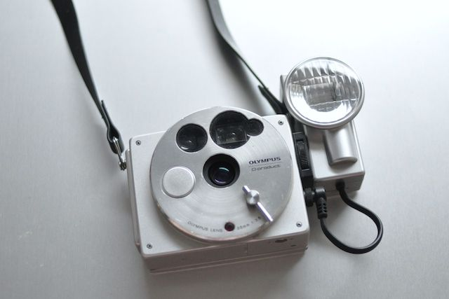 Olympus O Product camera, designed in the 80s limited to 20,000 pieces