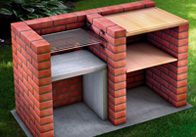 Bauen Sie einen festen Grill für Ihren Garten. So mauern Sie sich Ihre eigene komfortable Grillstation. Weiter zur Anleitung.