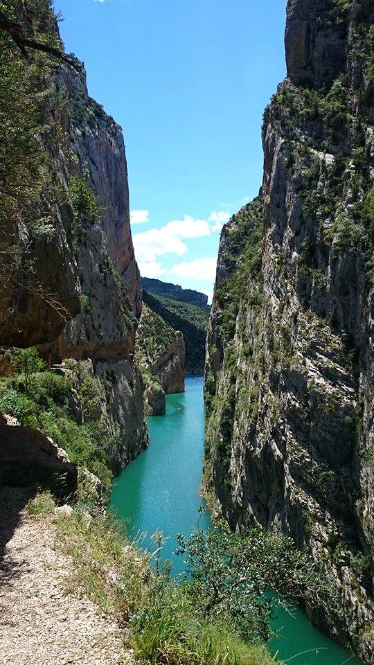 Congost de Mont Rebei.Lerida.España